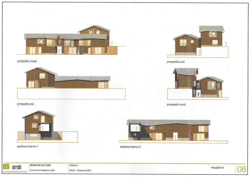 Ski home madesimo il progetto for Planimetrie in stile sud